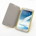 Samsung Galaxy Note 2 Casual Folio Cover Case (Yellow) genuine leather case by PDair