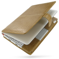 10% OFF + FREE SHIPPING, Buy PDair Quality Handmade Protective Acer Aspire one AOA-110 Genuine Leather Flip Cover (Brown Croc) online. You also can go to the customizer to create your own stylish leather case if looking for additional colors, patterns and