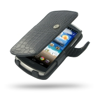 10% OFF + FREE SHIPPING, Buy Best PDair Quality Handmade Protective Acer CloudMobile S500 Genuine Leather Flip Cover (Black Croc) You also can go to the customizer to create your own stylish leather case if looking for additional colors, patterns and type