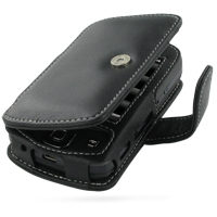 Acer DX900 Leather Flip Cover (Black) PDair Premium Hadmade Genuine Leather Protective Case Sleeve Wallet