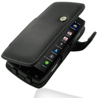 Leather Book Case for Acer Iconia Smart S300 (Black)