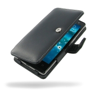 Acer Liquid E3 Leather Flip Cover PDair Premium Hadmade Genuine Leather Protective Case Sleeve Wallet