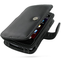 Leather Book Case for Acer Neo Touch S200 (Acer F1) (Black)