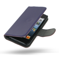 10% OFF + FREE SHIPPING, Buy Best PDair Quality Handmade Protective iPhone 5 | iPhone 5s Genuine Leather Flip Cover (Purple) online. Pouch Sleeve Holster Wallet You also can go to the customizer to create your own stylish leather case if looking for addit