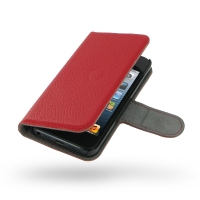 10% OFF + FREE SHIPPING, Buy Best PDair Quality Handmade Protective iPhone 5 | iPhone 5s Genuine Leather Flip Cover (Red Pebble Genuine Leather). You also can go to the customizer to create your own stylish leather case if looking for additional colors, p