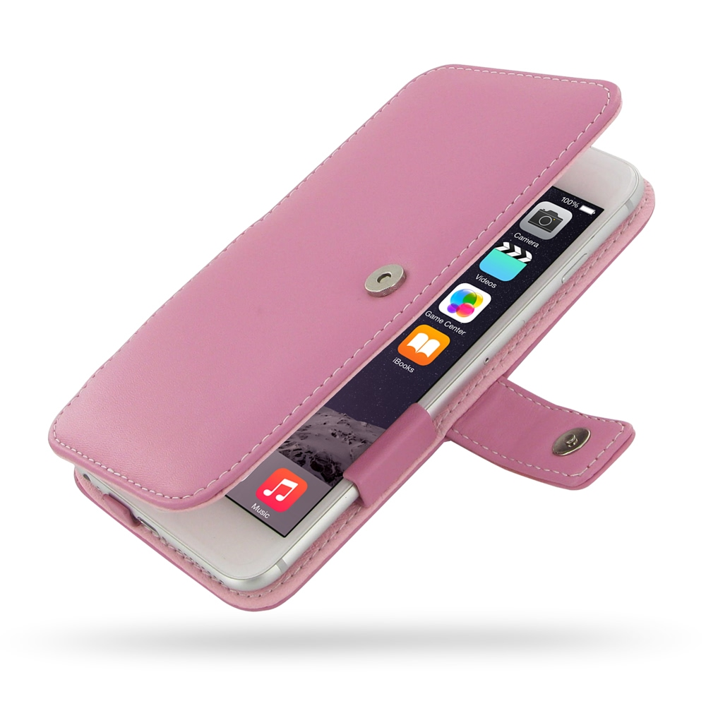 10% OFF + FREE SHIPPING, Buy Best PDair Quality Handmade Protective iPhone 6 Plus | iPhone 6s Plus Genuine Leather Flip Cover (Petal Pink) online. You also can go to the customizer to create your own stylish leather case if looking for additional colors,