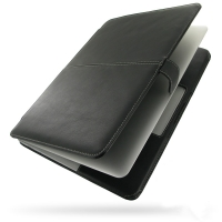 Leather Book Case for Apple MacBook Air 11