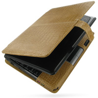 10% OFF + FREE SHIPPING, Buy Best PDair Quality Handmade Protective Asus Eee PC 1000 Genuine Leather Flip Cover (Brown Croc) online. You also can go to the customizer to create your own stylish leather case if looking for additional colors, patterns and t