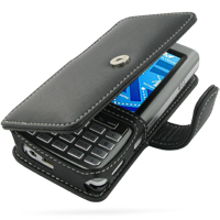 Leather Book Case for Asus P527 (Black)
