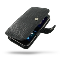 10% OFF + FREE SHIPPING, Buy Best PDair Quality Handmade Protective Asus PadFone 2 Genuine Leather Flip Cover (Black Croc) online. Pouch Sleeve Holster Wallet You also can go to the customizer to create your own stylish leather case if looking for additio