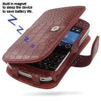 10% OFF + FREE SHIPPING, Buy Best PDair Quality Handmade Protective BlackBerry Bold 9000 Genuine Leather Flip Cover (Red Croc). Pouch Sleeve Holster Wallet You also can go to the customizer to create your own stylish leather case if looking for additional