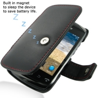 10% OFF + FREE SHIPPING, Buy Best PDair Quality Handmade Protective BlackBerry Curve 9380 Genuine Leather Flip Cover (Red Stitch) You also can go to the customizer to create your own stylish leather case if looking for additional colors, patterns and type