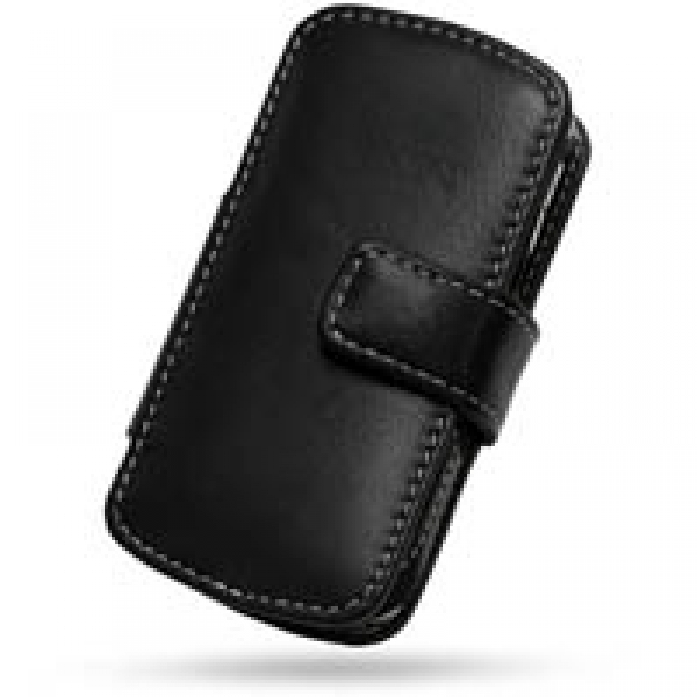 Blackberry pearl 8100 mobile phones images blackberry pearl 8100 -  Blackberry Pearl 8100 Leather Flip Cover Black Pdair Premium Hadmade Genuine Leather Protective Case