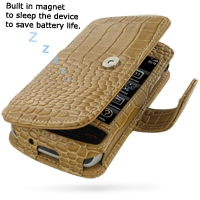 10% OFF + FREE SHIPPING, Buy Best PDair Quality Handmade Protective BlackBerry Storm Genuine Leather Flip Cover (Brown Croc) online. You also can go to the customizer to create your own stylish leather case if looking for additional colors, patterns and t
