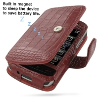 10% OFF + FREE SHIPPING, Buy Best PDair Quality Handmade Protective BlackBerry Storm Genuine Leather Flip Cover (Red Croc) online. Pouch Sleeve Holster Wallet You also can go to the customizer to create your own stylish leather case if looking for additio