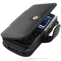 Leather Book Case for HP iPAQ 900 Series (Black)