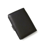 Leather Book Case for HP iPAQ h2200 Series (Black)
