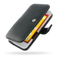 Leather Book Case for HTC Butterfly 2