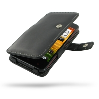 HTC Butterfly Leather Flip Cover PDair Premium Hadmade Genuine Leather Protective Case Sleeve Wallet