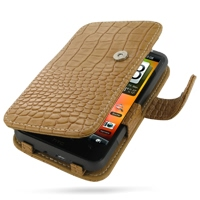 10% OFF + FREE SHIPPING, Buy Best PDair Top Quality Handmade Protective HTC Desire HD A9191 Leather Flip Cover (Brown Croc). Pouch Sleeve Holster Wallet You also can go to the customizer to create your own stylish leather case if looking for additional co