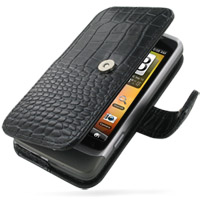 10% OFF + FREE SHIPPING, Buy PDair Top Quality Handmade Protective HTC Desire Z / T-mobile G2 Leather Flip Cover (Black Croc). Pouch Sleeve Holster Wallet You also can go to the customizer to create your own stylish leather case if looking for additional