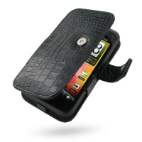 10% OFF + FREE SHIPPING, Buy Best PDair Top Quality Handmade Protective HTC Incredible S Leather Flip Cover (Black Croc) online. Pouch Sleeve Holster Wallet You also can go to the customizer to create your own stylish leather case if looking for additiona