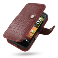 10% OFF + FREE SHIPPING, Buy Best PDair Top Quality Handmade Protective HTC Incredible S Leather Flip Cover (Red Croc) online. Pouch Sleeve Holster Wallet You also can go to the customizer to create your own stylish leather case if looking for additional