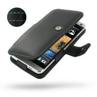 10% OFF + FREE SHIPPING, Buy Best PDair Top Quality Handmade Protective HTC One Leather Flip Cover (Green Stitch) online. Pouch Sleeve Holster Wallet You also can go to the customizer to create your own stylish leather case if looking for additional color