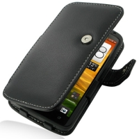 Leather Book Case for HTC One X+ Plus