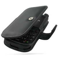 Leather Book Case for HTC Snap/HTC S522/HTC Maple 100 (Black)