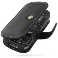 Leather Book Case for HTC Touch Cruise P3651 (Black)