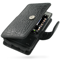 10% OFF + FREE SHIPPING, Buy Best PDair Top Quality Handmade Protective HTC Touch Diamond 100 Leather Flip Cover (Black Croc) You also can go to the customizer to create your own stylish leather case if looking for additional colors, patterns and types.