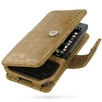 10% OFF + FREE SHIPPING, Buy Best PDair Top Quality Handmade Protective HTC Touch Diamond 100 Leather Flip Cover (Brown Croc) You also can go to the customizer to create your own stylish leather case if looking for additional colors, patterns and types.