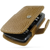 10% OFF + FREE SHIPPING, Buy Best PDair Top Quality Handmade Protective HTC Touch HD Leather Flip Cover (Brown Croc) online. Pouch Sleeve Holster Wallet You also can go to the customizer to create your own stylish leather case if looking for additional co