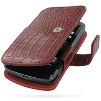 10% OFF + FREE SHIPPING, Buy Best PDair Top Quality Handmade Protective HTC Touch HD Leather Flip Cover (Red Croc) online. Pouch Sleeve Holster Wallet You also can go to the customizer to create your own stylish leather case if looking for additional colo