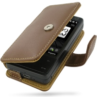 10% OFF + FREE SHIPPING, Buy Best PDair Top Quality Handmade Protective HTC Touch Pro Leather Flip Cover (Brown) online. Pouch Sleeve Holster Wallet You also can go to the customizer to create your own stylish leather case if looking for additional colors
