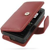 10% OFF + FREE SHIPPING, Buy Best PDair Top Quality Handmade Protective HTC Touch Pro Leather Flip Cover (Red) online. Pouch Sleeve Holster Wallet You also can go to the customizer to create your own stylish leather case if looking for additional colors,
