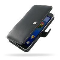 Huawei Ascend GX1 Leather Flip Cover PDair Premium Hadmade Genuine Leather Protective Case Sleeve Wallet