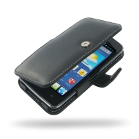Leather Book Case for Huawei Ascend Y511