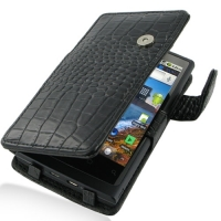 10% OFF + FREE SHIPPING, Buy PDair Top Quality Handmade Protective Huawei IDEOS X6 / Ascend X Leather Flip Cover (Black Croc). Pouch Sleeve Holster Wallet You also can go to the customizer to create your own stylish leather case if looking for additional