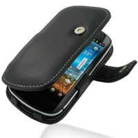 Leather Book Case for Huawei Vision U8850-1