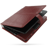 10% OFF + FREE SHIPPING, Buy PDair Top Quality Handmade Protective Lenovo Ideapad Lite S9 S10 Leather Flip Cover (Red Croc) online. You also can go to the customizer to create your own stylish leather case if looking for additional colors, patterns and ty