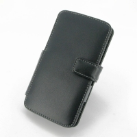 LG G3 Leather Flip Cover PDair Premium Hadmade Genuine Leather Protective Case Sleeve Wallet