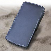 LG isai LGL22 Leather Flip Cover PDair Premium Hadmade Genuine Leather Protective Case Sleeve Wallet