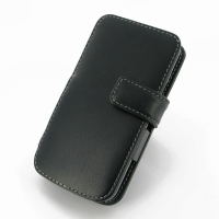 LG L90-D410 Leather Flip Cover PDair Premium Hadmade Genuine Leather Protective Case Sleeve Wallet