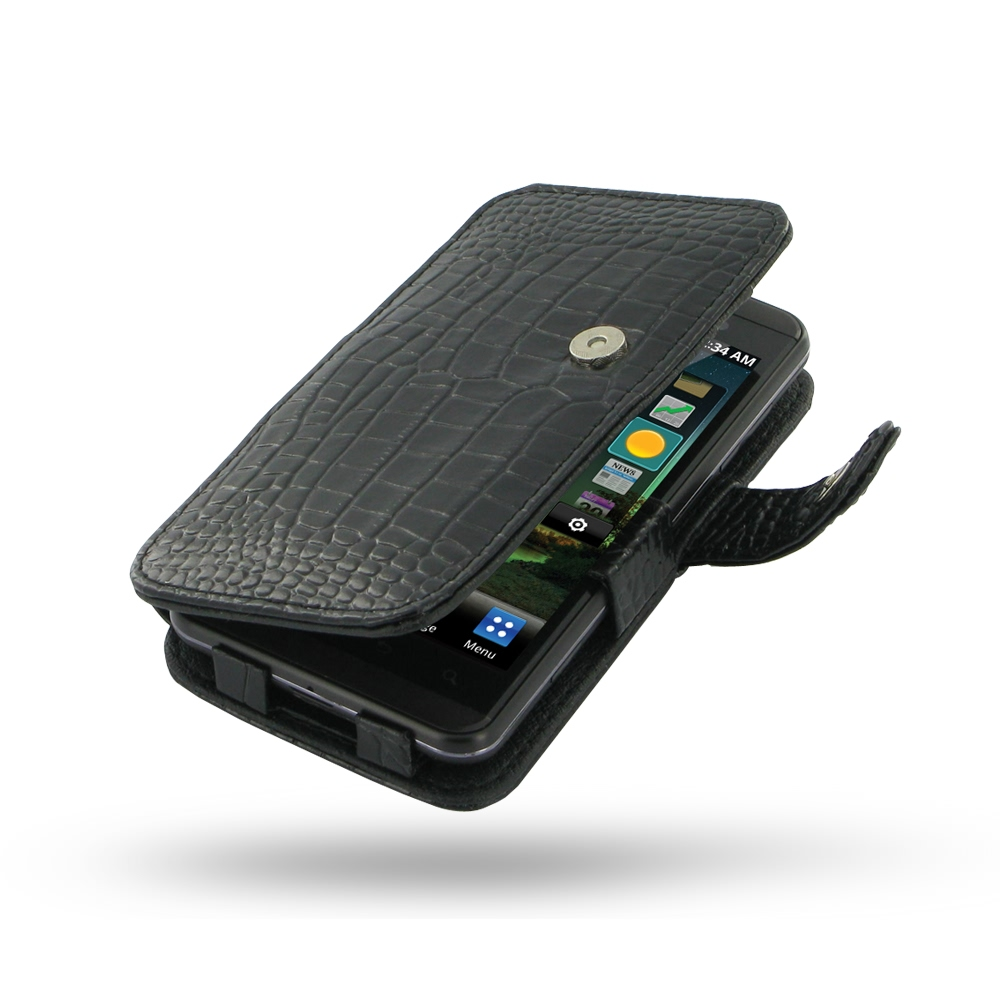 10% OFF + FREE SHIPPING, Buy Best PDair Top Quality Handmade Protective LG Optimus 3D Leather Flip Cover (Black Croc) online. Pouch Sleeve Holster Wallet You also can go to the customizer to create your own stylish leather case if looking for additional c