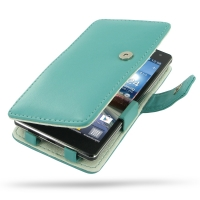 10% OFF + FREE SHIPPING, Buy Best PDair Top Quality Handmade Protective LG Optimus 4X HD Leather Flip Cover (Aqua) online. Pouch Sleeve Holster Wallet You also can go to the customizer to create your own stylish leather case if looking for additional colo