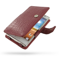 10% OFF + FREE SHIPPING, Buy Best PDair Top Quality Handmade Protective LG Optimus L7 Leather Flip Cover (Red Croc) online. Pouch Sleeve Holster Wallet You also can go to the customizer to create your own stylish leather case if looking for additional col