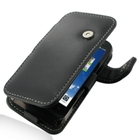 Motorola Defy XT535 Leather Flip Cover PDair Premium Hadmade Genuine Leather Protective Case Sleeve Wallet