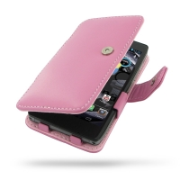 10% OFF + FREE SHIPPING, Buy PDair Top Quality Handmade Protective Motorola Droid Razr HD Leather Flip Cover (Petal Pink) online. Pouch Sleeve Holster Wallet You also can go to the customizer to create your own stylish leather case if looking for addition